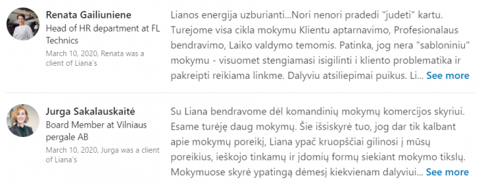 Liana Mogisaite rekomendacijos3
